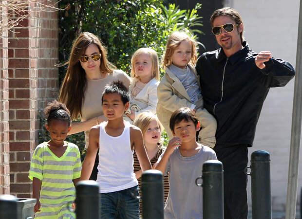 Анджелина Джоли дети, добро, родители, усыновление