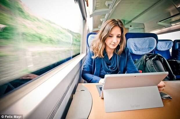 Вся жизнь в поезде