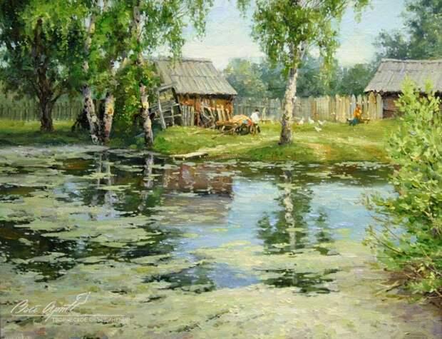 пейзажи художник Сергей Малов - 01