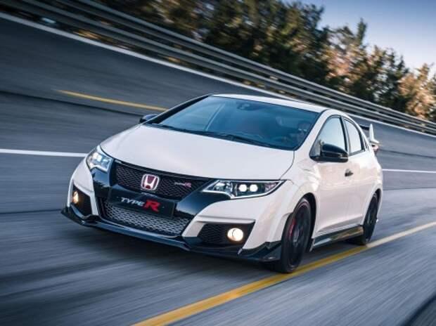 Honda Civic Type R получил свыше 300 «турбо-лошадей»