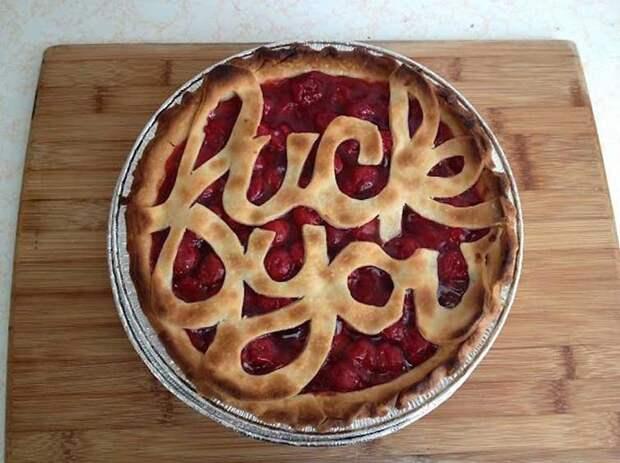 Пирог... эээ, ну вы поняли выпечка, красивая еда, кулинария, пироги