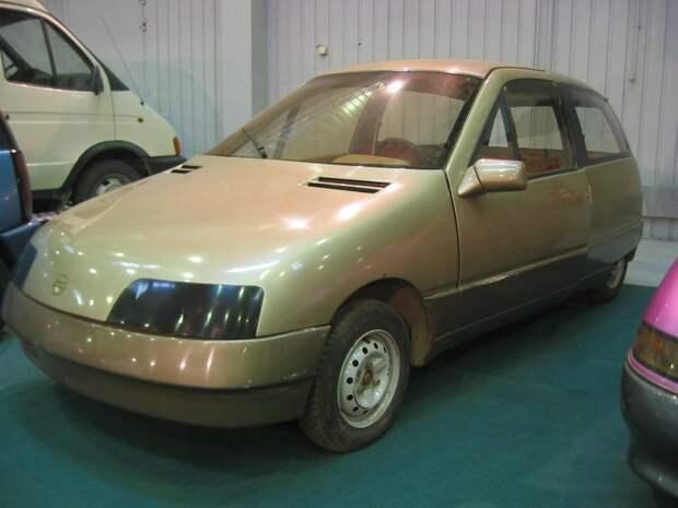 """НАМИ-0284 """"Дебют"""" (1987 г.) авто, автомобили, интересное, прототип"""