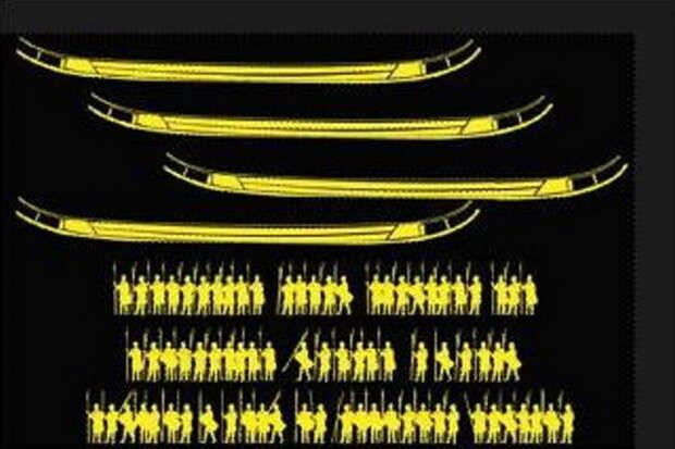 Ладьи из Хьёртшпринга и их экипаж - Скандинавские клады: армия из Хьёртшпринга   Warspot.ru