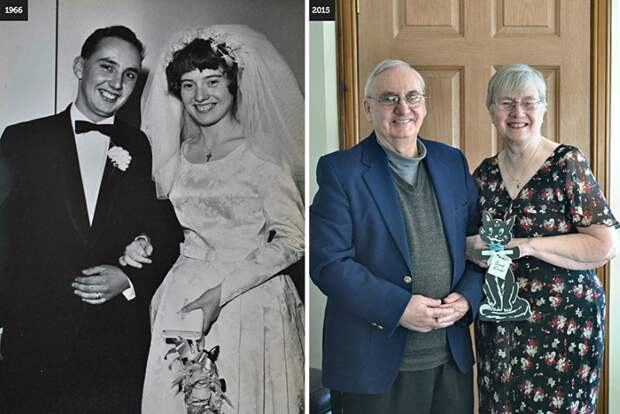 10 супружеских пар, которые подтверждают, что любовь живет вечно...
