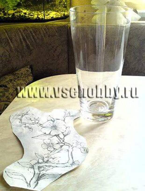 подбираем подходящий для вазы рисунок