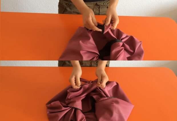 Многофункциональная вместительная сумка без выкройки и шитья