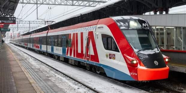 Собянин: Создание МЦД-4 является крупнейшей железнодорожной стройкой Москвы. Фото: В.Новиков, mos.ru