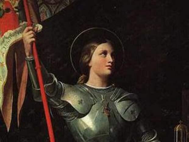 Жанна коронует Карла VII