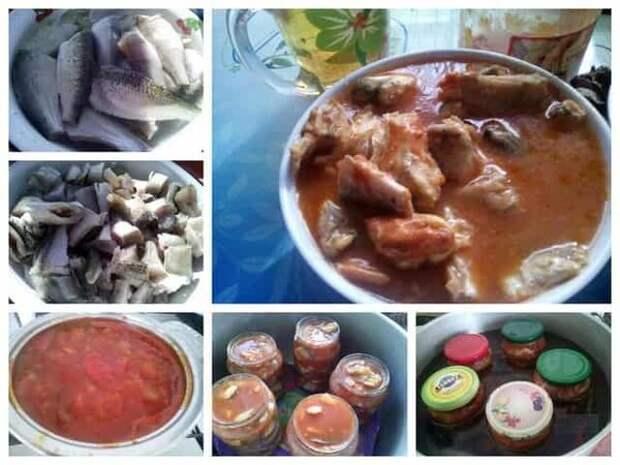 Домашние консервы из речной рыбы в томатном соусе: такие не купишь в магазине