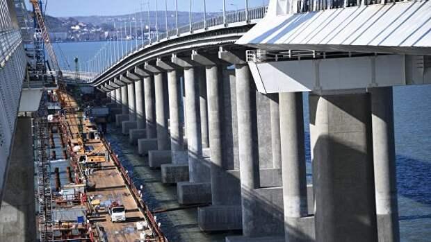 Минтранс: строительство Крымского моста завершится раньше срока