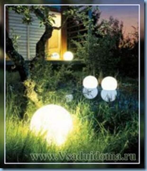 Делаем освещение участка и дачи вокруг дома – чтобы было экономично и красиво.