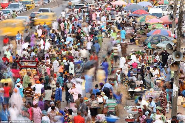 Рынок в Лагосе