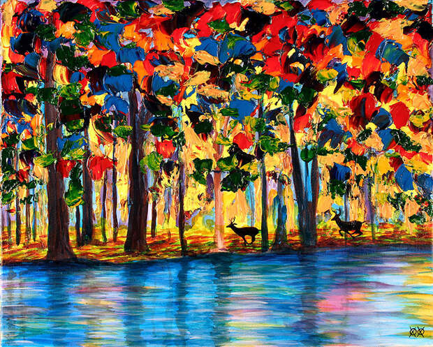 Картины, созданные на ощупь картины, слепой, художник