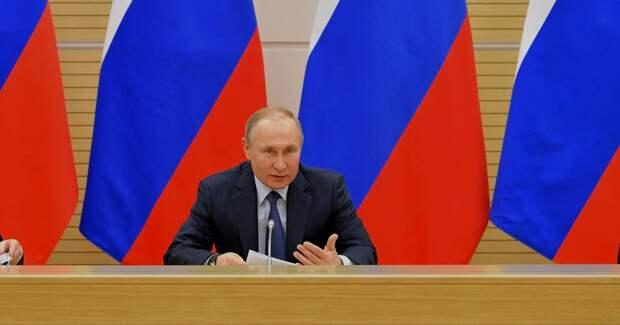 Путин призвал россиян выдержать испытание самоизоляцией