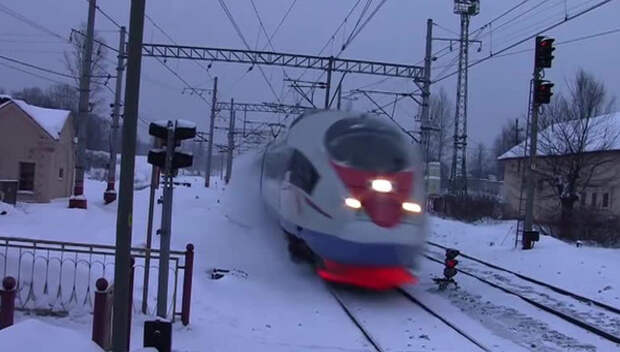 Скорый поезд «Россия» обстрелян неизвестными
