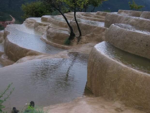 Водопад Байшуйтай, Китай. водопад, природа, факты