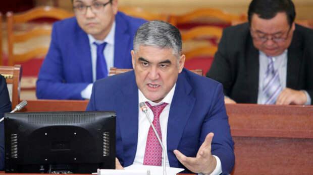 Суд отправил под домашний арест бывшего замглавы МВД Киргизии