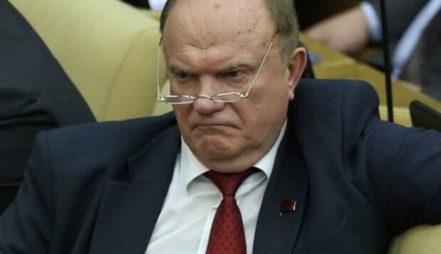 Зюганов обвинил всех в криминальном беспределе и потребовал у Путина вмешаться