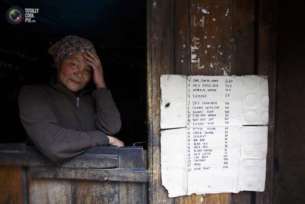 Жительница Непала