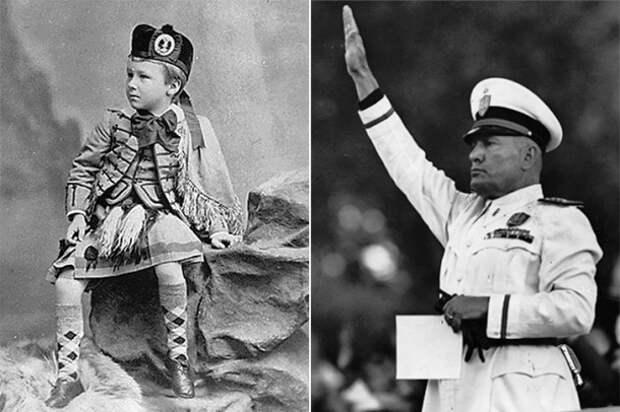 Детские фотографии самых одиозных людей мира