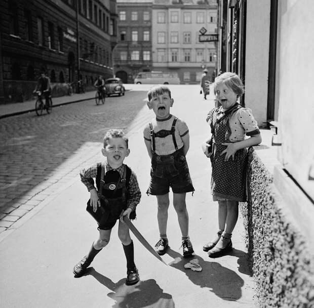 Европа 50-х в объективе солдата