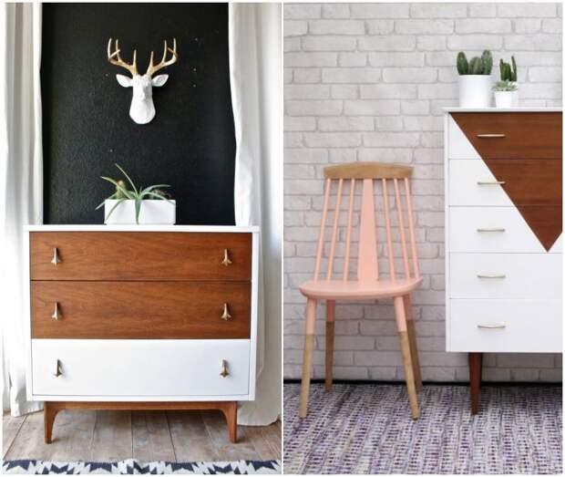 Яркие акценты мебели