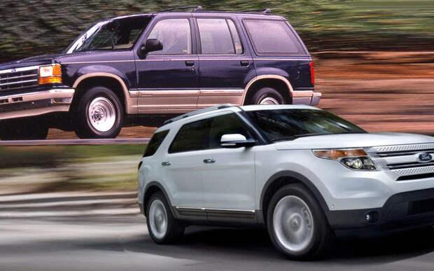 26. Ford Explorer авто, история