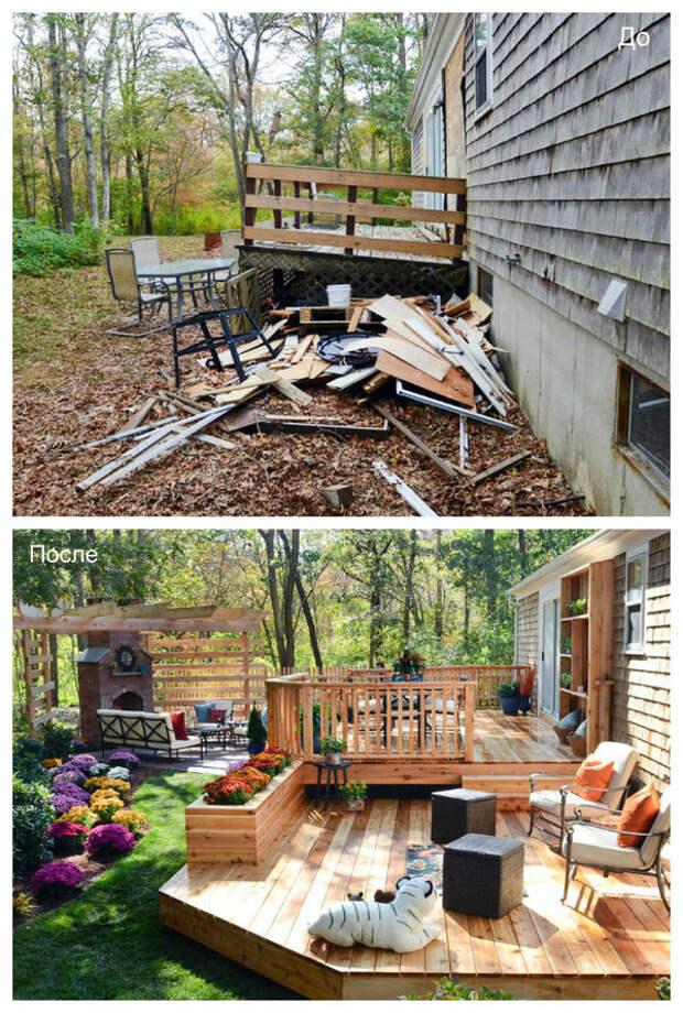 Двор как продолжение дома