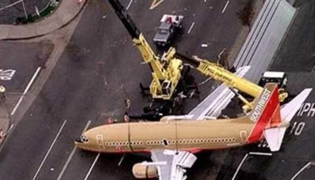 Boeing 737-3T5 авиакомпании Southwest Airlines, инцидент с рейсом WN1455