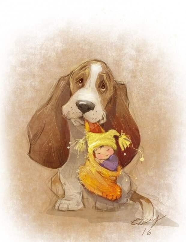 художник Екатерина Бабок иллюстрации – 17