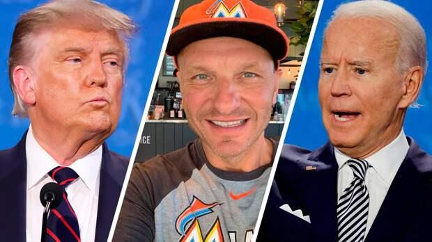 «Цирк в Америке будет продолжаться, Трамп никуда не пропадет». Живущий в США хоккеист Каспарайтис — о выборах