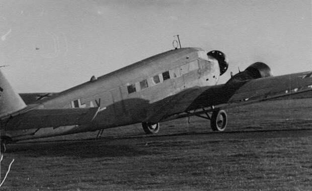 Таинственный полет Юнкерса в Москву за 38 дней до войны