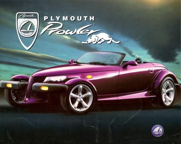 Серийный хот-род Plymouth Prowler Prowler, plymouth, хот-род