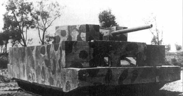 Экранированный бетоном Т-34