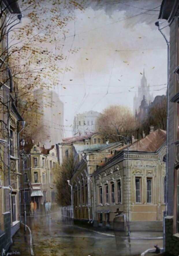 Городской романс. Автор: Александр Стародубов.