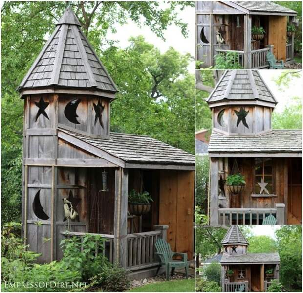 Уютные дачные постройки
