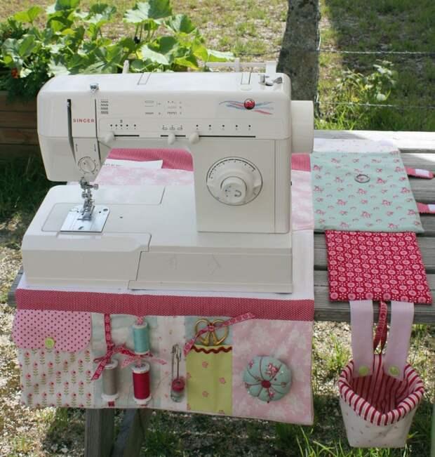 Раскладной чехол для швейной машинки