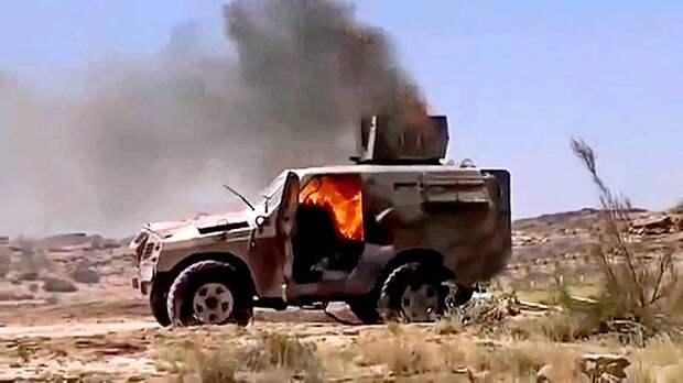Хитрая засада хуситов: кадры уничтожения саудовских солдат
