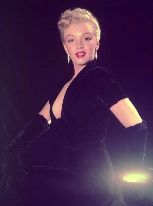 Фотографии Мэрилин Монро, сделанные Эд Кларком в 1950 году
