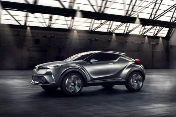 Toyota обновила концепт C-HR