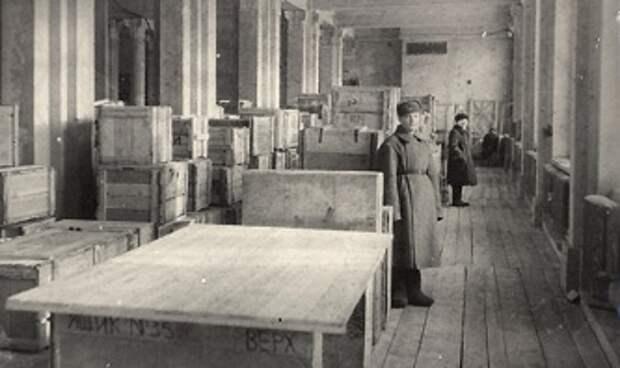 Государственная Третьяковская галерея в годы ВОВ