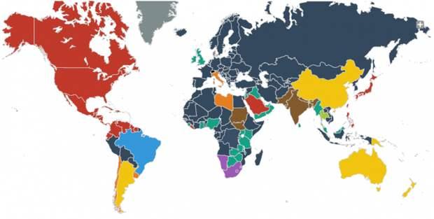 Почему на всех континентах разные розетки?