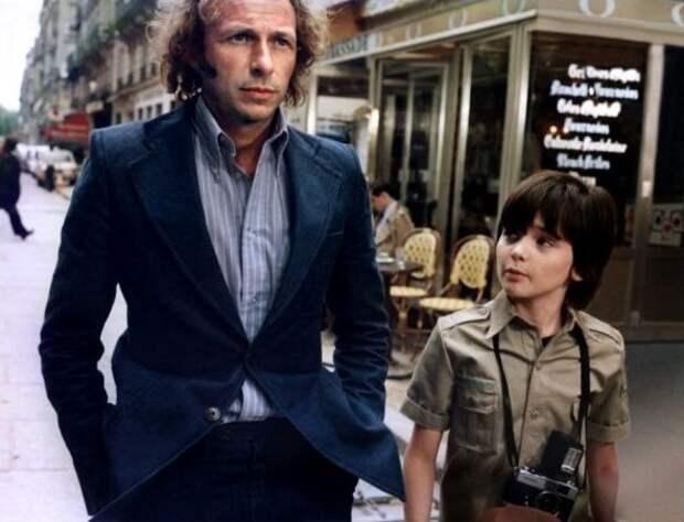 """Франсис Вебер, Пьер Ришар и Мишель Буке на съёмках фильма """"Игрушка"""", 1976"""
