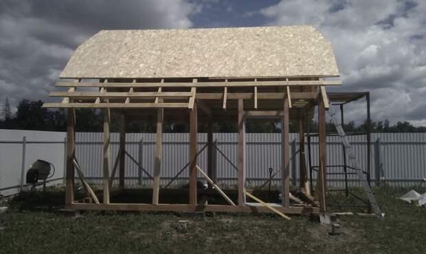 Летний домик домик, строительство