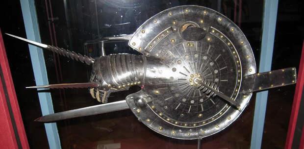 10 видов необычного оружия Средних веков