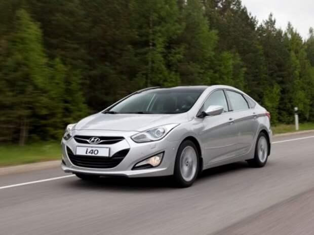Hyundai i40 получил новые комплектации