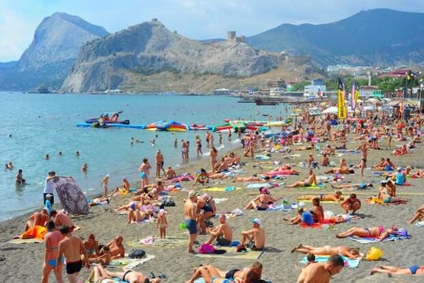Благодаря Крымскому мосту турпоток на полуостров увеличился