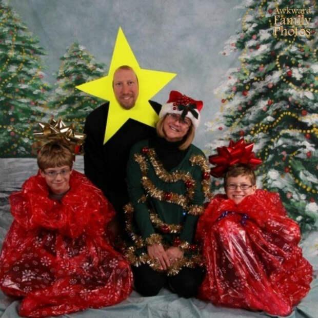 8 рождественских портретов от очень странных семей