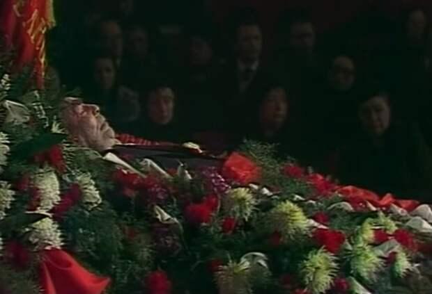 Похороны Брежнева