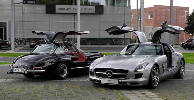 27. Mercedes SL/SLR авто, история
